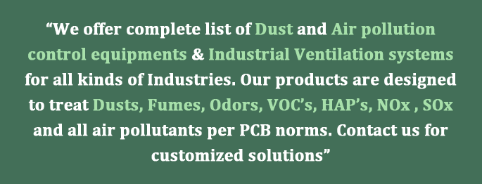 Dust collector products
